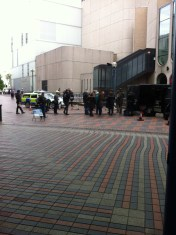 BBC Filming at the ICC
