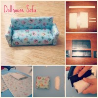 Dollhouse Furniture so far and Paper Pieced Quilting ...