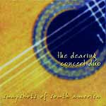 Dearing Concert Duo - Snapshots of South America CD cover