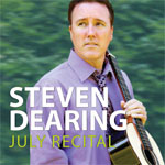 Steven Dearing July Recital CD Cover