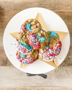 Stuffed Marshmallow Cookie