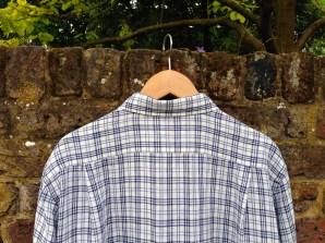 Uniqlo Premium Linen Men's Shirt - back detail