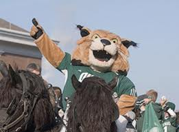 Ohio-college mascots, University-Rufus-the-Bobcat