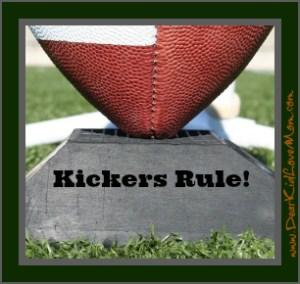 Football kickers rule
