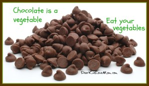 chocolate is a vegetable. eat your vegetables