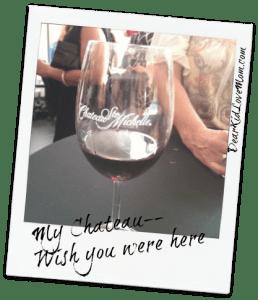 #mychateau Wish you were here DearKidLoveMom.com