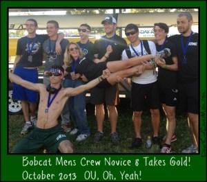 Bobcat Novice 8 man crew takes gold DearKidLoveMom.com