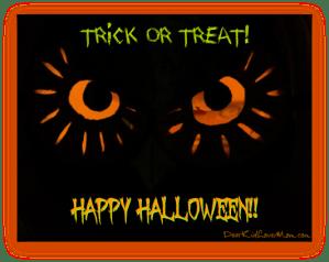 Halloween Trick or Treat DearKidLoveMom.com
