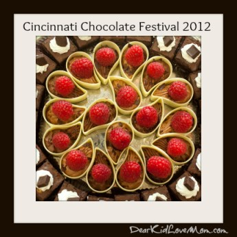 Chocolate and Berries Cinci Chocolate Festival DearKidLoveMom.com