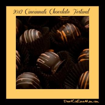 Chocolates Cincinnati Chocolate Festival DearKidLoveMom.com