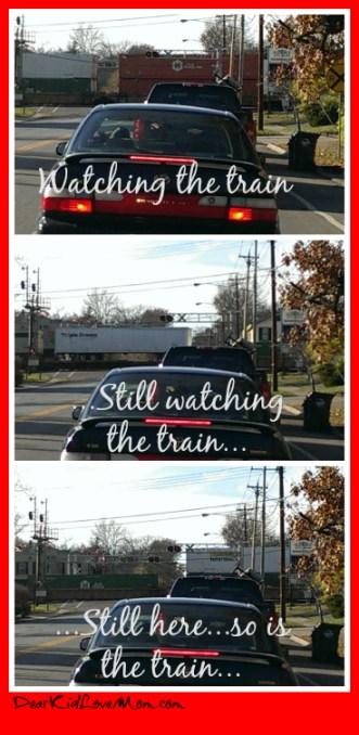 trains in Cincinnati are long and boring. DearKidLoveMom.com