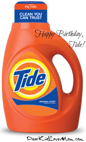 Happy Birthday Tide