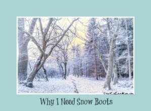 Why I Need Snowboots DearKidLoveMom.com