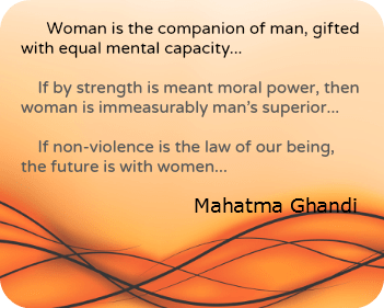 Mahatma Ghandi Quote DearKidLoveMom.com