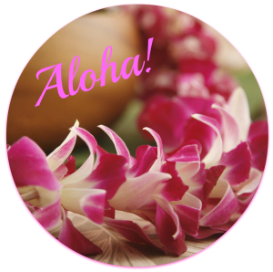 Leis are a sign of affection in Hawaii. DearKidLoveMom.com
