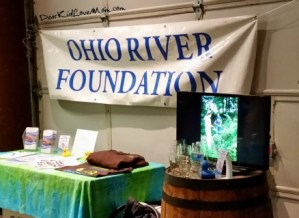 Ohio River Foundation talks about the Ohio River at MadTree Brewery. DearKidLoveMom.com