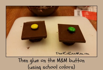 Chocolate Mortar Boards. Step 3. Happy Graduation! DearKidLoveMom.com