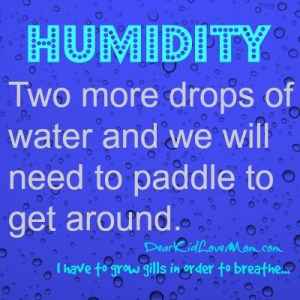 Two more drops of water and we will need to paddle to get around. DearKidLoveMom.com