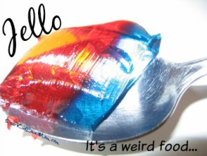 Food is weird. Not as weird as our attitudes toward food, but still, weird. DearKidLoveMom.com