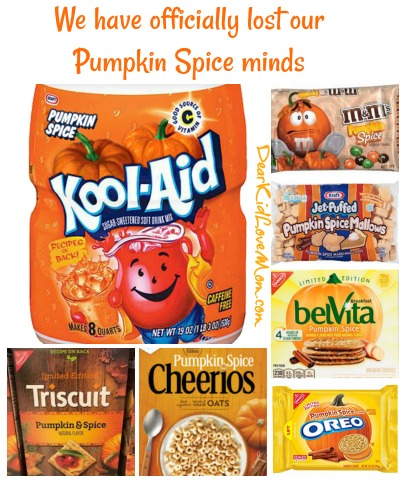 Perhaps there should be limits on pumpkin spice.... DearKidLoveMom.com