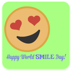 Happy World Smile Day! from DearKidLoveMom.com
