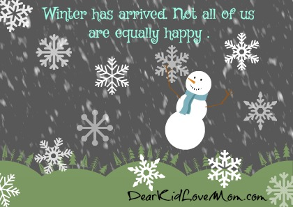 What You Don't Know About Old Man Winter DearKidLoveMom.com