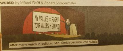 My Values = Right Comic. DearKidLoveMom.com