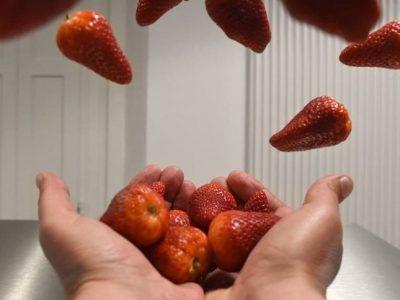 kitchen suspension strawberry