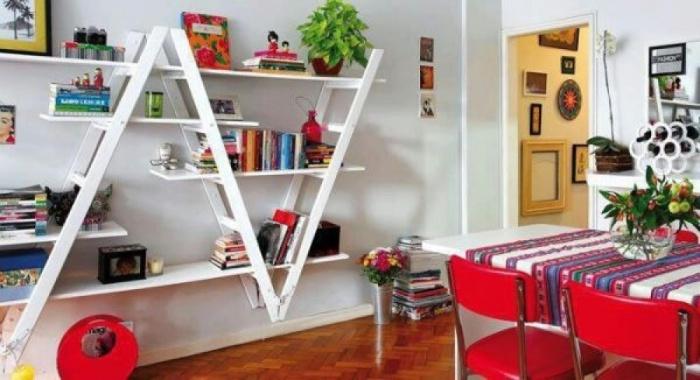 mobili vecchi cucina scala