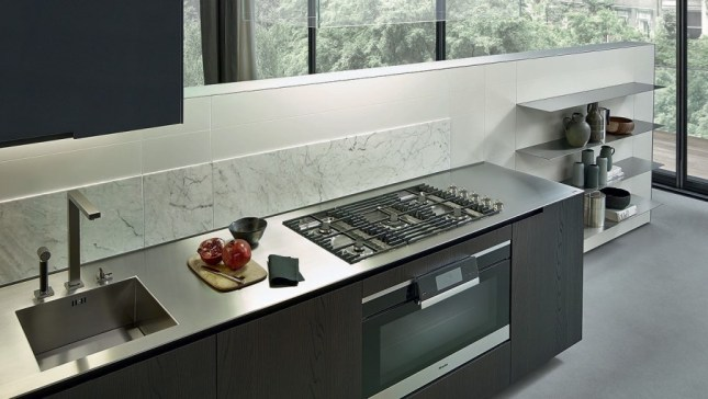 Stunning Piano Cucina In Acciaio Ideas - Embercreative.us ...