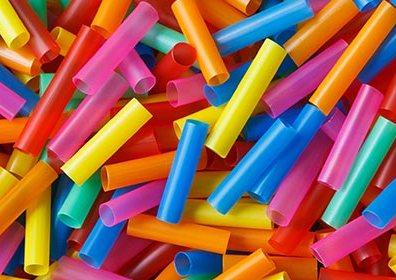 Cannucce di plastica