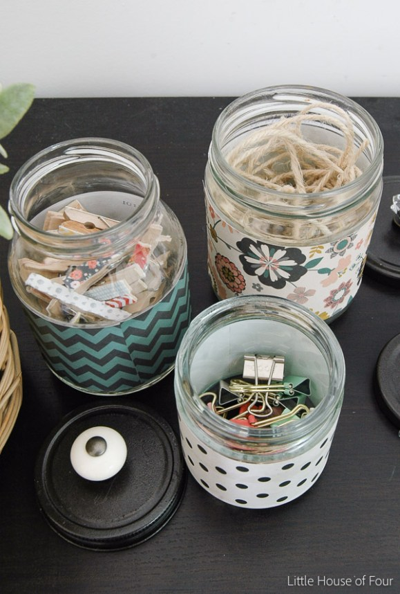 Stylish Recycled Storage Jars-1100