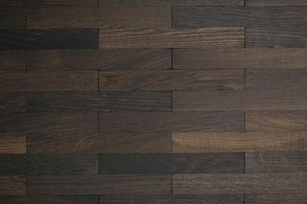 mosaic parquet brick pattern smoked oak