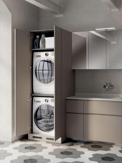 Lavatrice in cucina ecco come integrarla al meglio - Alice la cucina lavatrice ...