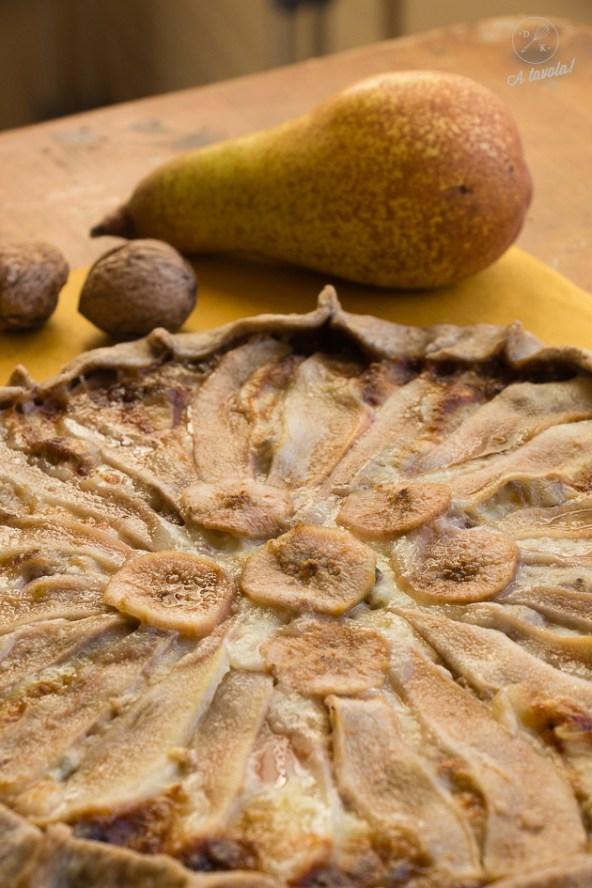 galette pere noci e gorgonzola1