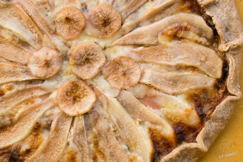 galette pere noci e gorgonzola2