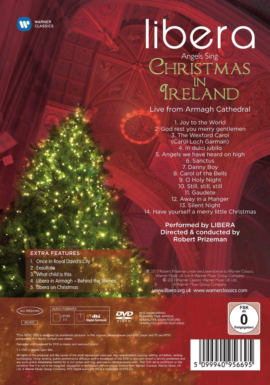 New DVD Angels Sing Christmas In Ireland Dear Libera