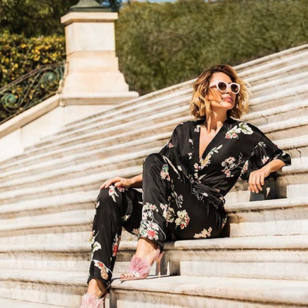 943d8b8c3c78 Το σύνολο που επέλεξε να φορέσει η Μαρία Ηλιάκη σε μια από της τελευταίες  φωτογραφίες της στο Instagram είναι ιδανικό για μια τέτοια περίσταση.
