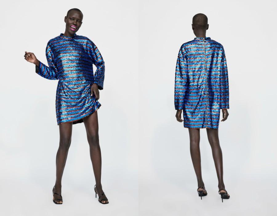 9befe0acf5fa 14 Φορέματα για Όλα τα Πάρτι των Χριστουγέννων από Zara