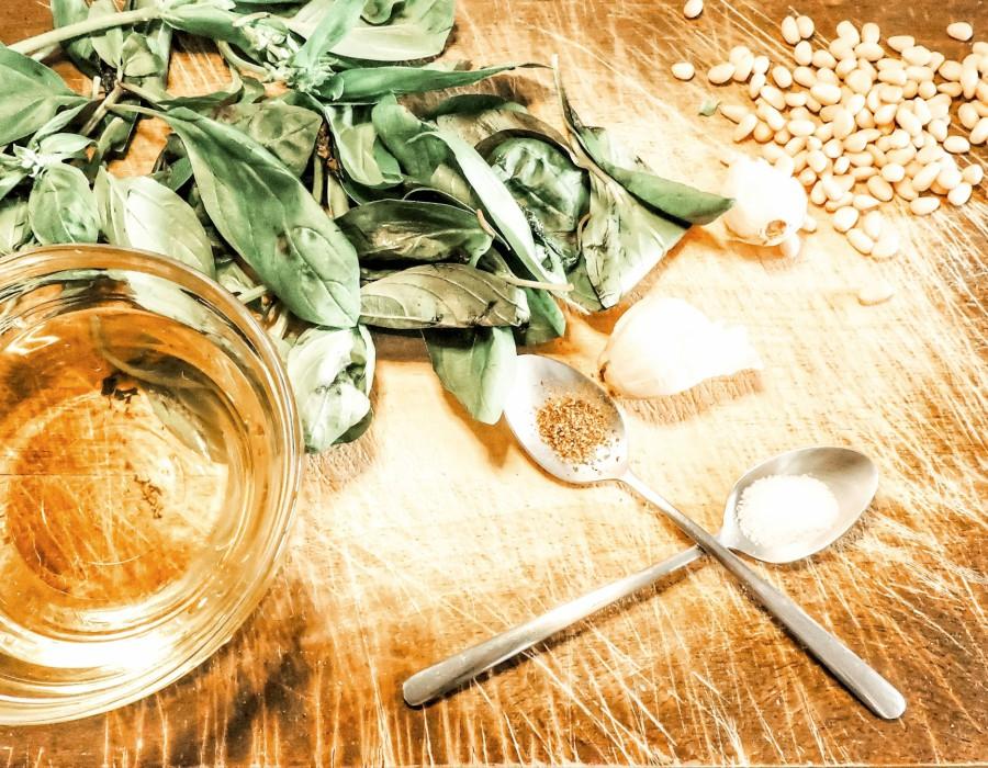 Υγιεινή συνταγή για πέστο