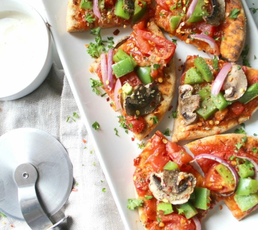 υγιεινή πίτσα