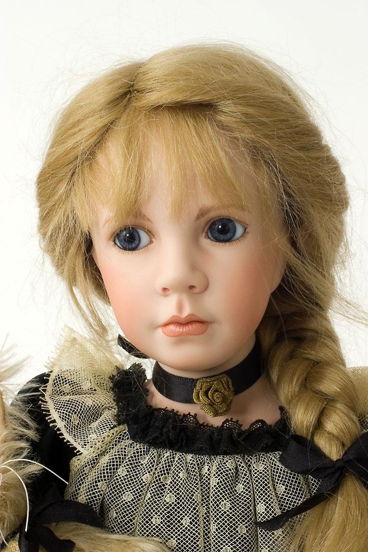 Heather Porcelain Soft Body Art Doll By Linda Mason