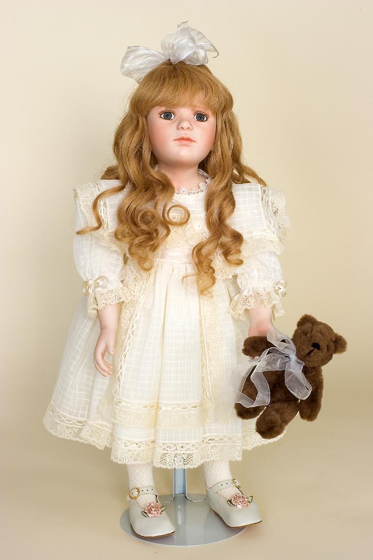 Victoria Elizabeth   porcelain soft body limited edition art doll by Katrina Murawska