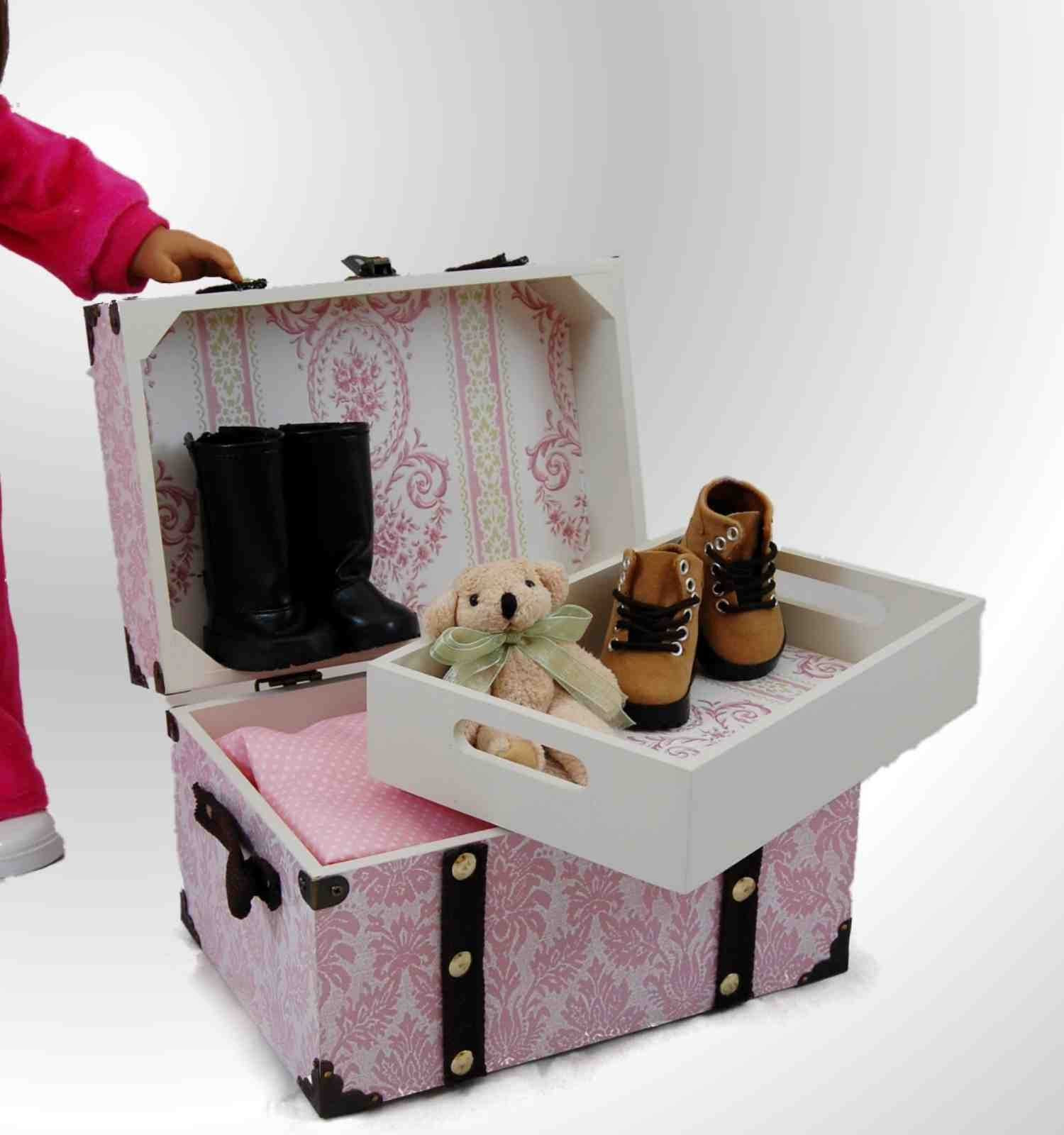 american girl doll chairs neck support for office chair india steamer trunk accessories