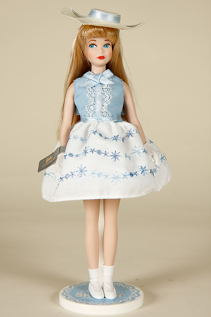 30th Anniversary Skipper  porcelain limited edition collectible doll by Mattel