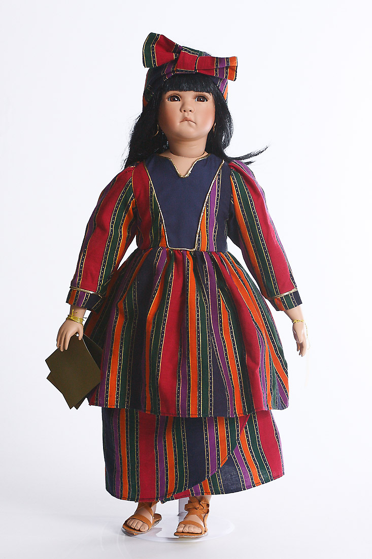 Memina by M Severino  porcelain soft body limited edition collectible doll by Michelle Severino