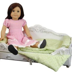 American Girl Doll Chairs King Throne For Rent Dreamy Victorian Daybed Bed Furniture 18