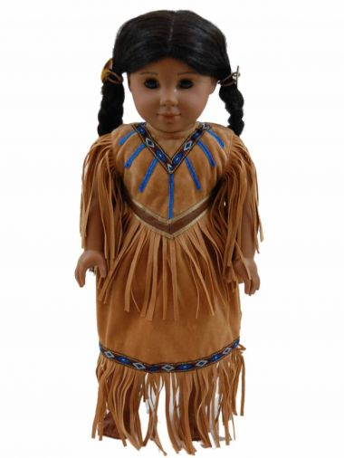 Native American Outfit For 18 Dolls  American Girl