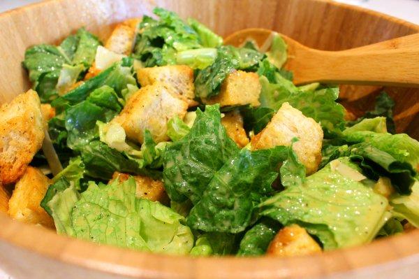 The Classic Caesar Salad Dear Martini