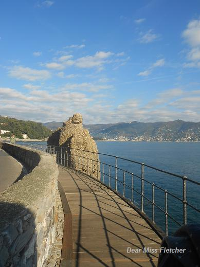 La passeggiata tra Santa Margherita Ligure e Portofino  Dear Miss Fletcher